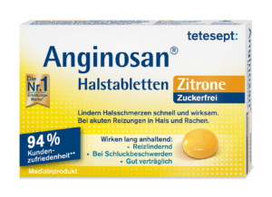 Anginosan® Halstabletten Zitrone zuckerfrei