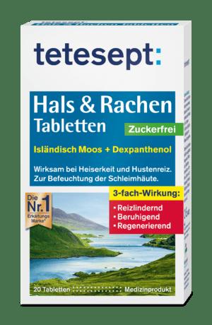 Hals & Rachen Tabletten Zuckerfrei