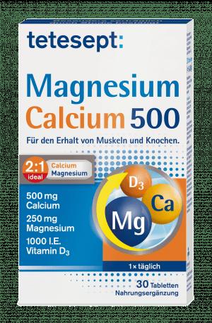 Magnesium + Calcium 500 + D3