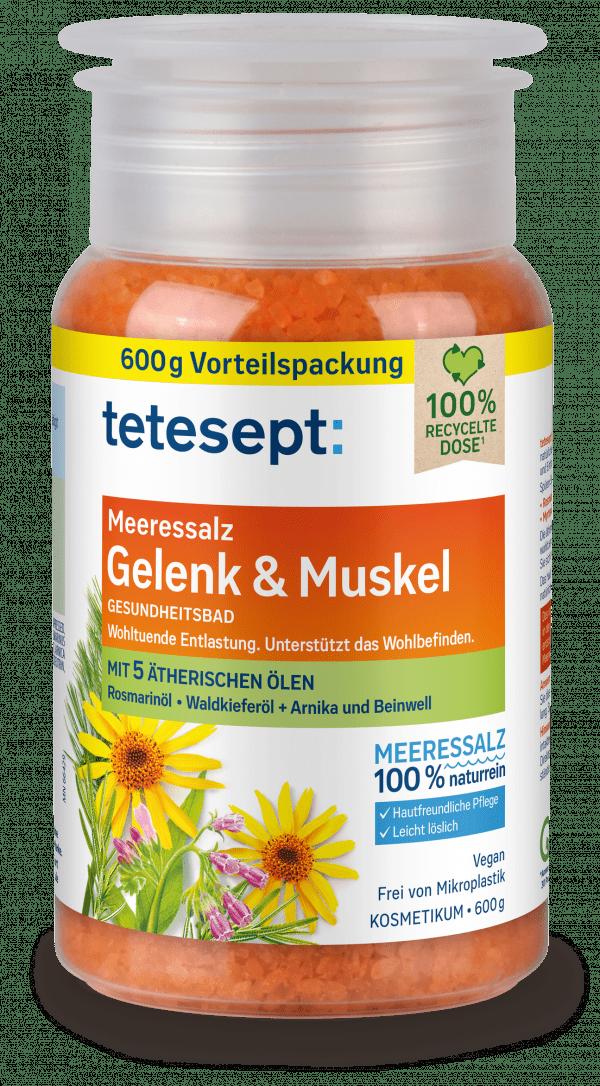 tetesept Meeressalz Gelenk & Muskel 600g